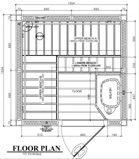 SAWO 1616RL Plan